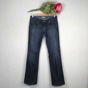 Paige | Low Rise Laurel Canyon Bootcut Jeans SZ28